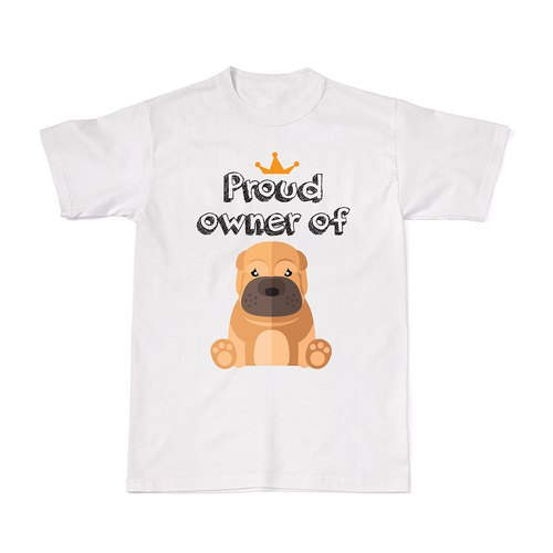 Proud Dog Owners Tees - Sharpei