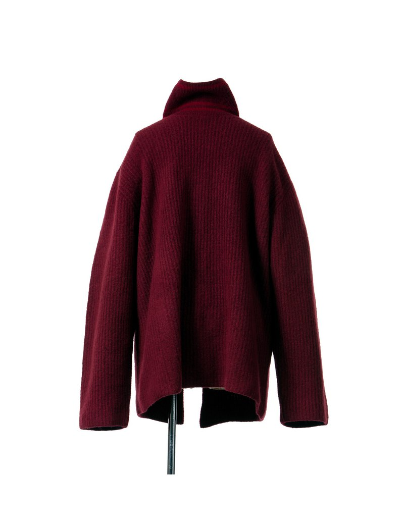 BESS WOOL TURTLENECK SWEATER