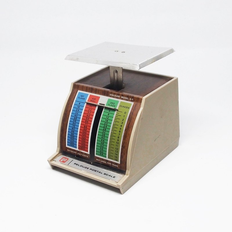 1972 Pelouze US Post Office letter scales
