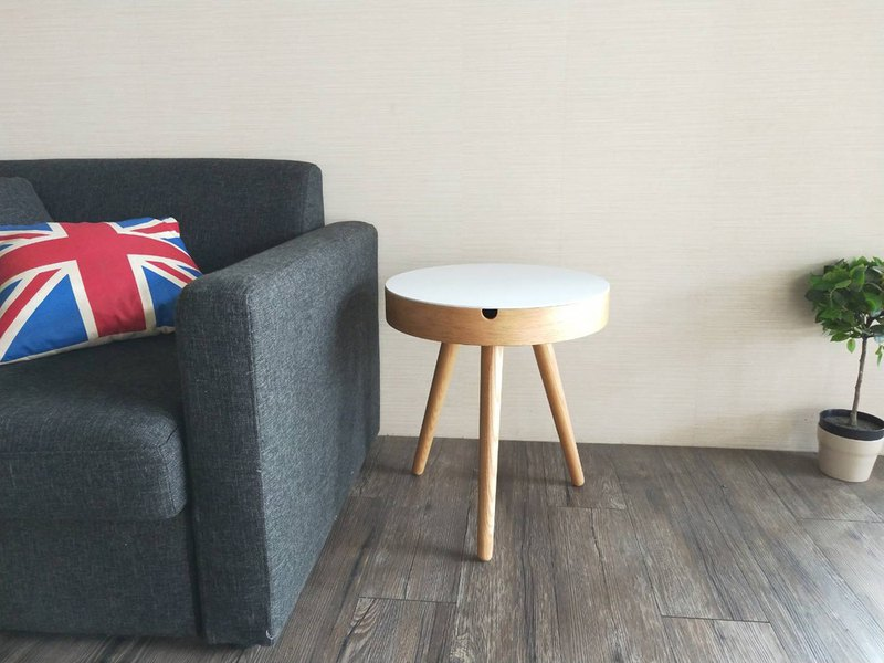 [Artis] core round wood table / wife's coffee table