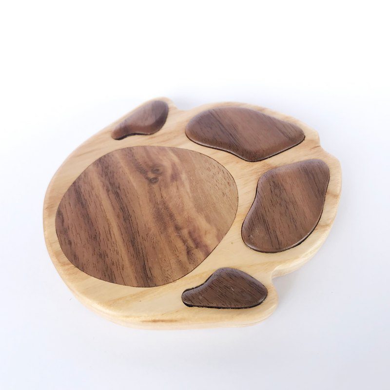 Taiwan boar foot coaster