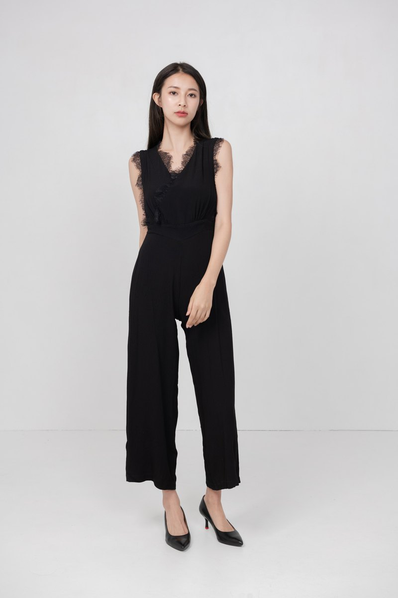 Brooklyn Lace Jumpsuit