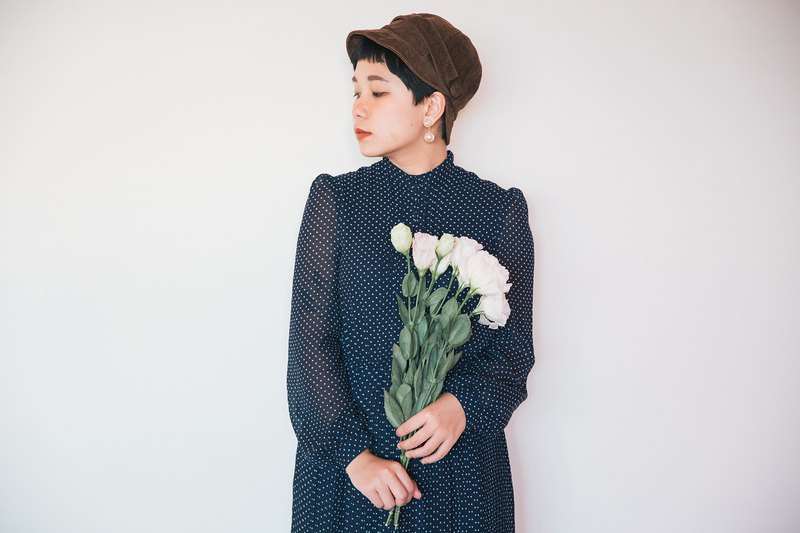 Awhile moment | Vintage long sleeve dress no.44