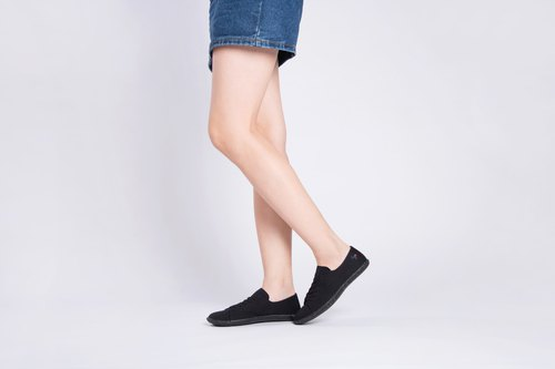 OPALE Stone   BLACK   PET RECYCLE and Eco-friendly shoes for WOMEN