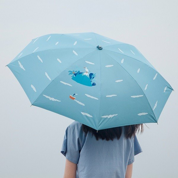 YIZISTORE Umbrella Umbrella Manual Creative Small Fresh Sunshade - Kojima