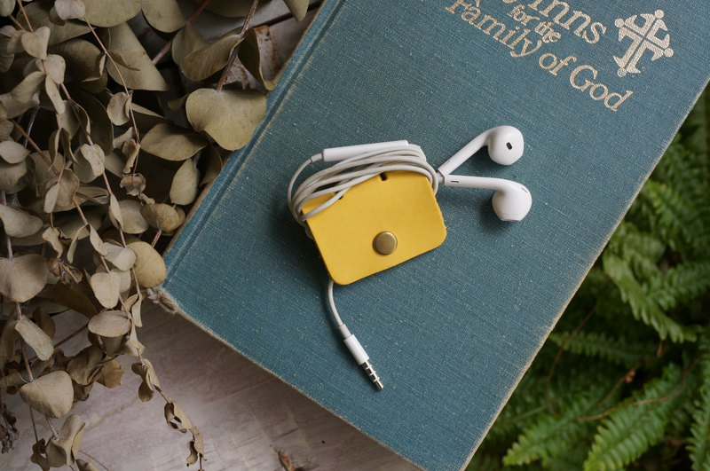 Yellow  -Square Style Collector for Earphone
