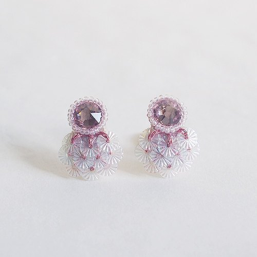 "Earrings ""Bijoux & SAKURA(cherryblossom)"""