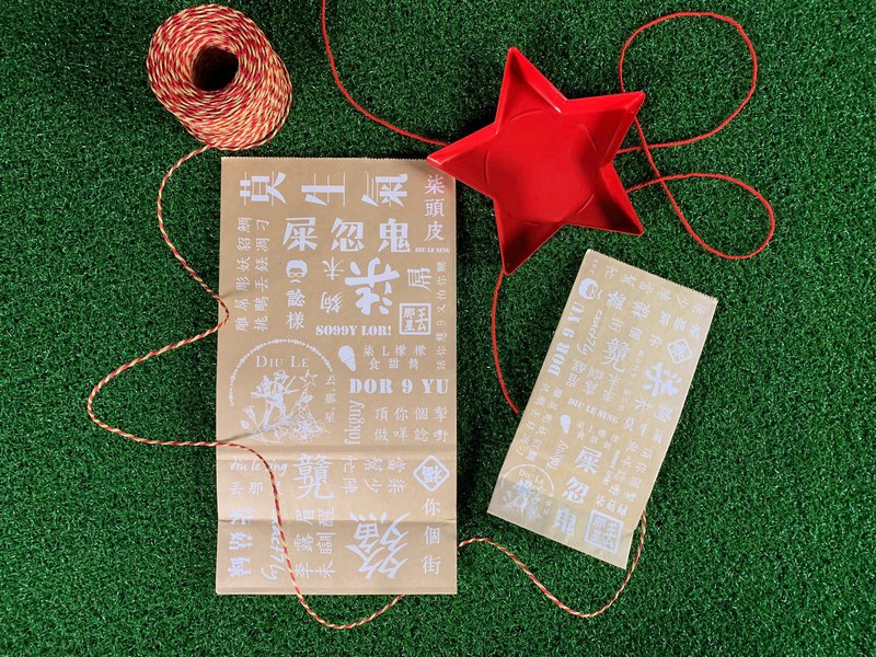 Le Sing Pretty Pattern Paper Bag Set