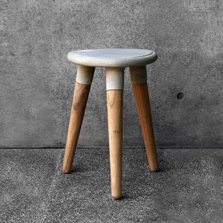DELTA STOOL - cement design chair stool