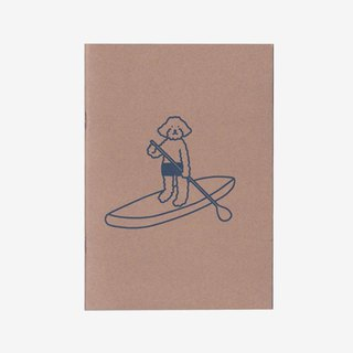 paddle board | Silkscreen print notebook (blank)