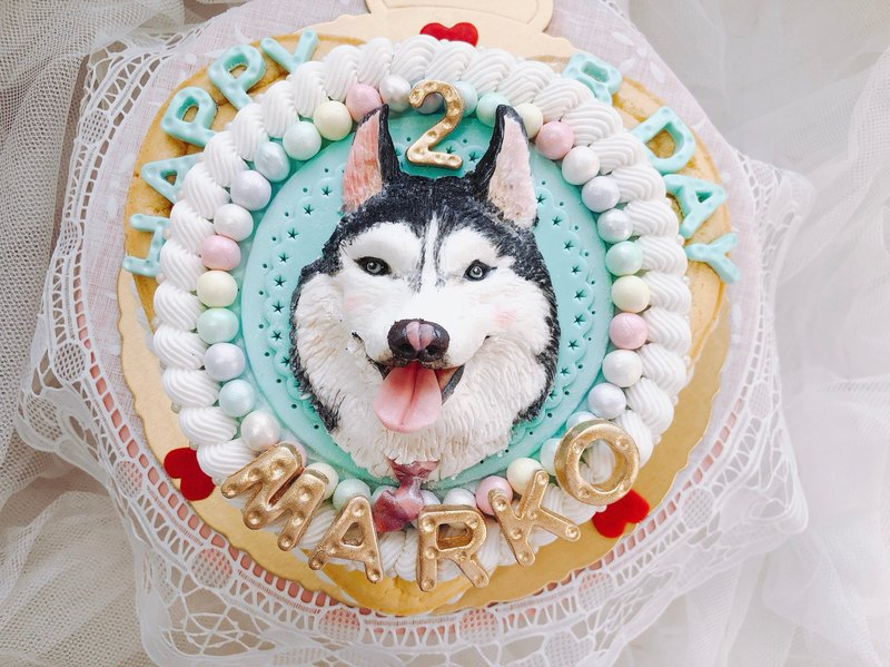 """Big boy"" is a master birthday cake """""