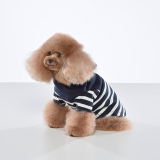 Designed Sensual Stitching Stripe Pet Cap T