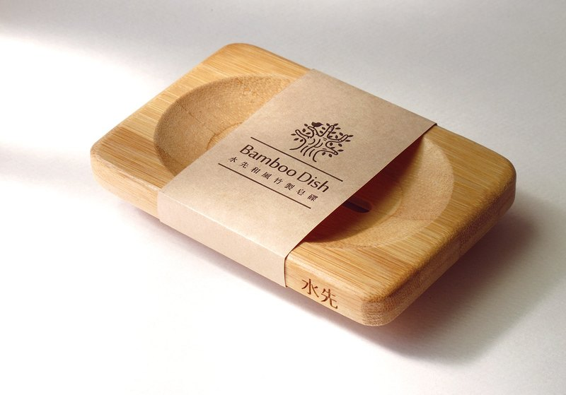 Japanese bamboo soap dish
