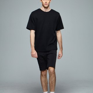 Stone@sOversize With Double-piece T-shirt / Double Black