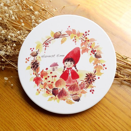 Little Red Riding Hood--Absorbent Coaster