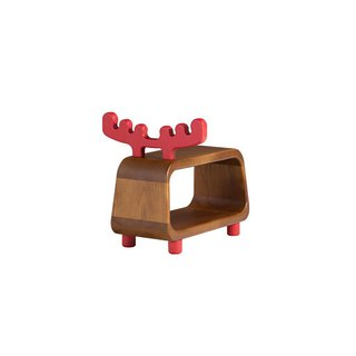 Chair stool. Small deer ─ 【love door】