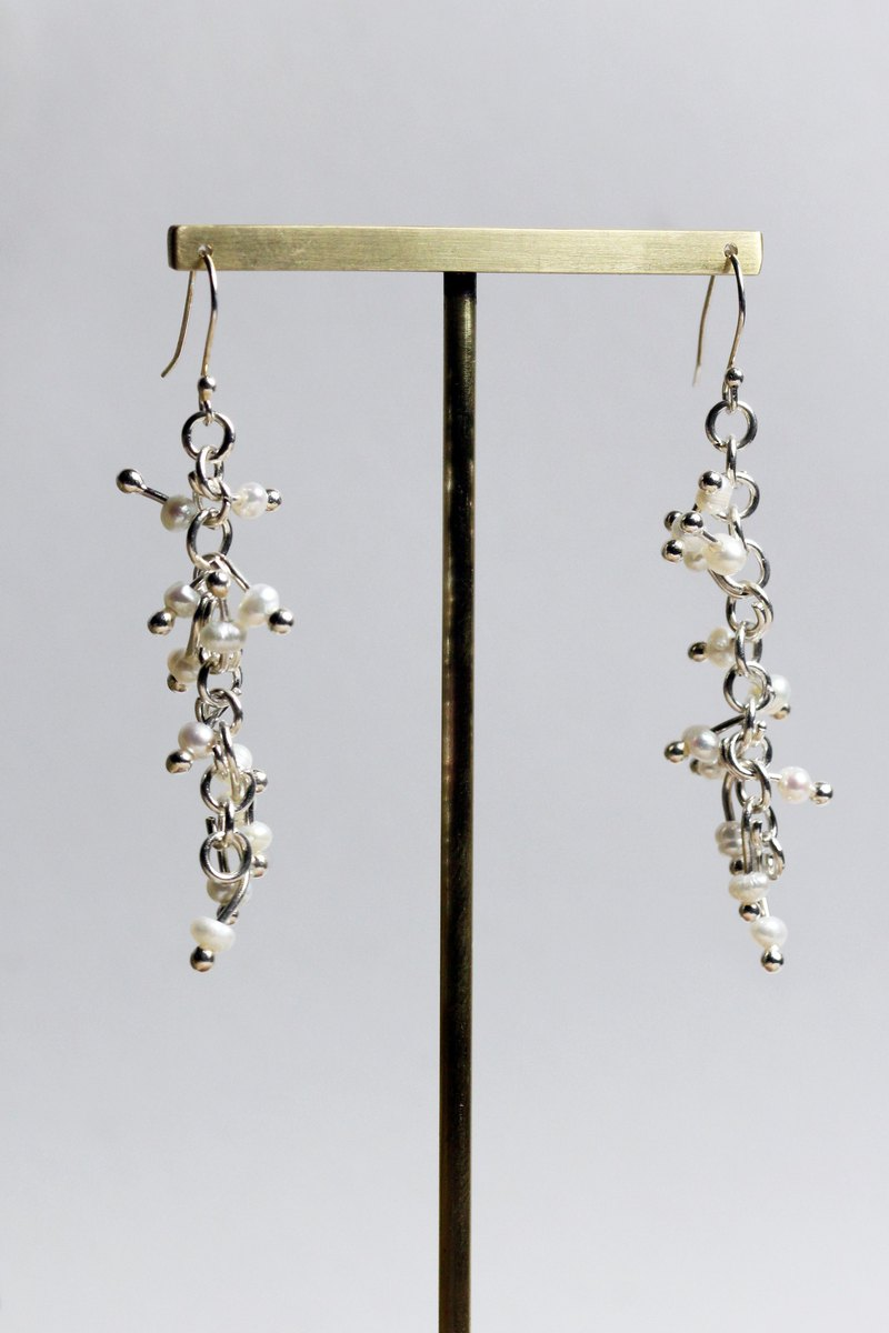 925 Sliver Earrings - Morning Dew