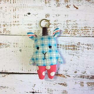 + Pure Blue + Fawn Keyring