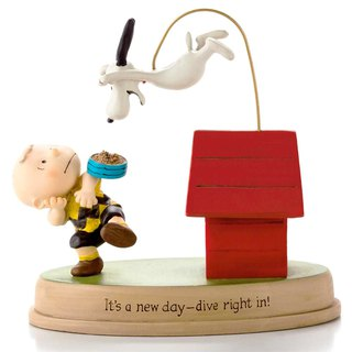 Snoopy Hand-Sculpture - A New Day [Hallmark-Peanuts Handicrafts]