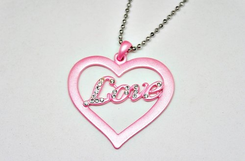 alloy necklace <Love> =>Limited X1 #女友礼# #情人节礼物# #七夕#