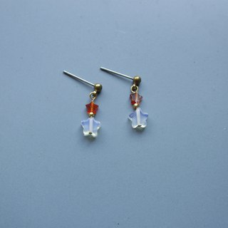 Star wish - earring  clip-on earring