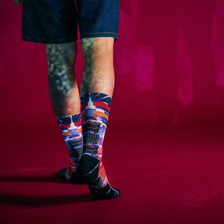 City Collection-Shining City Crew Socks