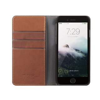US NOMADxHORWEEN iPhone 8/7 Plus side lift leather case (856504004781)