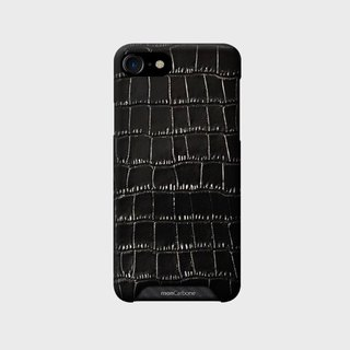 HOVERSKIN Alligator Black for iPhone 8 / 8 Plus