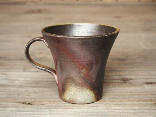 Bizen coffee cup (large) _c5-019