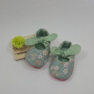 Korean style small flower baby shoes
