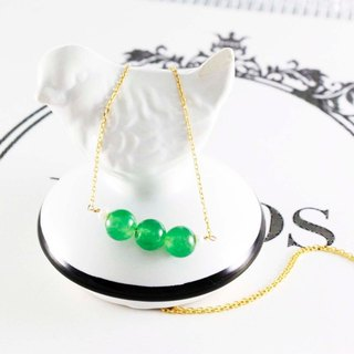 Unlimited opportunity Tanglin jade necklace