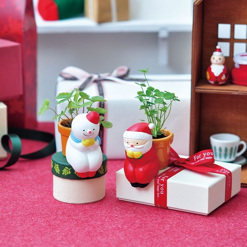 Sheng new Tao Yun Yun Happy Christmas plant [Christmas limited edition] snowman