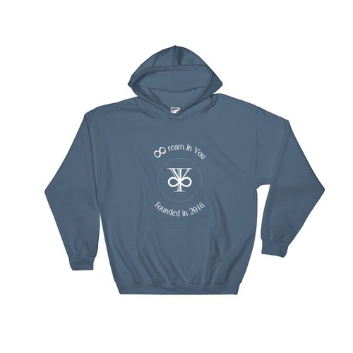 Classic LOGO Hooded Sweatshirt - 2016 Launch Edition (Indigo Blue)