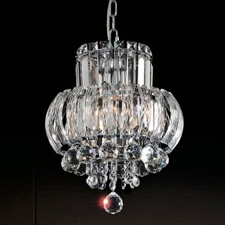 Double crystal chandelier