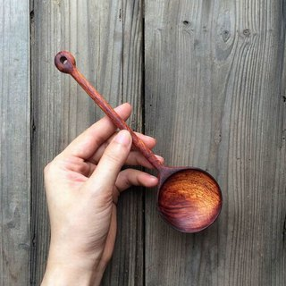 Hand made fine rosewood spoon