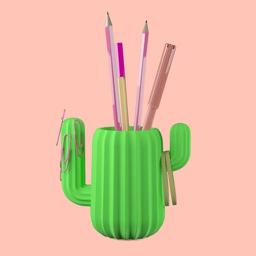 British Mustard Art Pen - Cactus