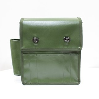 Retro Messenger Messenger Bags Shoulder Bags Messenger Backpack Camera Bag - Green Green