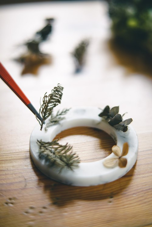 Fall Winter Limited: [aroma. Loop] Sen @ soy wax dry wreath
