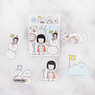 Snowman Country / Medium Sticker Set