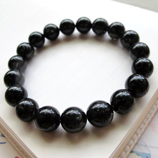 [Leader stone] 11mm-black tourmaline hair crystal (black hair crystal) - hand-created natural stone series