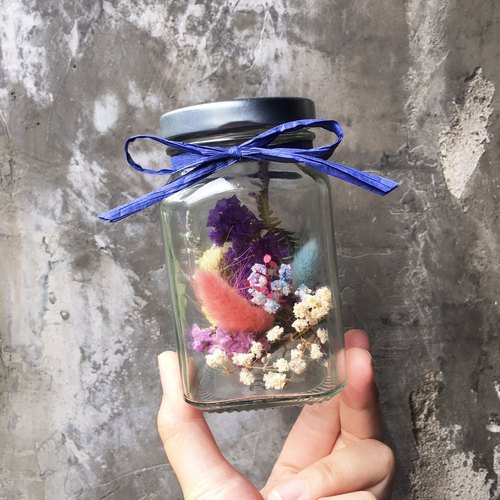 """Wannabe"" Dry Vase ~ Wenshuo Sensation Table Placement Desk Pendulum Eternal Flower Gift Room Arrangement Floral Wedding Wedding Arrangement Bunny Grass Dry Bouquet MIT Gift Hakka Custom Wedding Small Valentine's Day Gift Lavender"