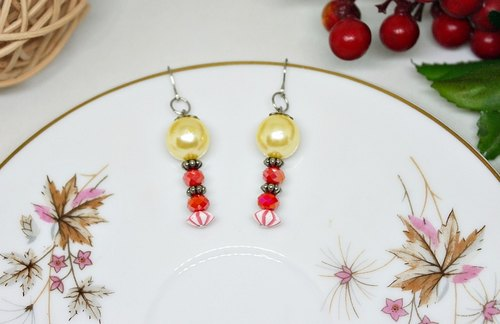 * _ * Little dwarf alloy hook earrings