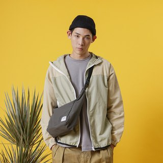 【ad-lib】Small Shoulder Bag - Olive//Navy//Orange (BA175)