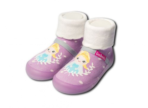 feebees toddler shoes / socks shoes / children's shoes - Neverland series Princess Aisha Frozen grapes