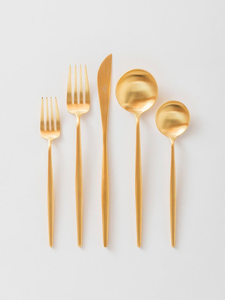 GOA MATTE GOLD CUTLERY (SINGLE)