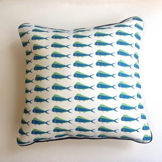 Design No.MM196 - 【Organic Cotton】Mahi-Mahi Pattern Fabric Pillow Cases