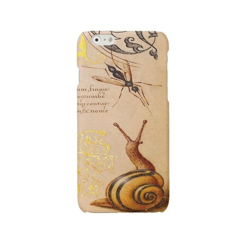 Snail iPhone 6 7 case iPhone SE cover iPhone 6 7 Plus case vintage iPhone 5 5s case iPhone 4 4s case Samsung Galaxy S4 S5 S6 S7 cover print 1301