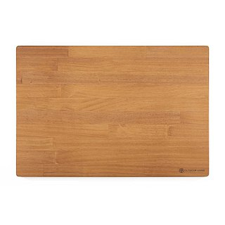 AyKasa Exclusive New Pine Solid Wood Table - Hand Dyed Deep Teak L