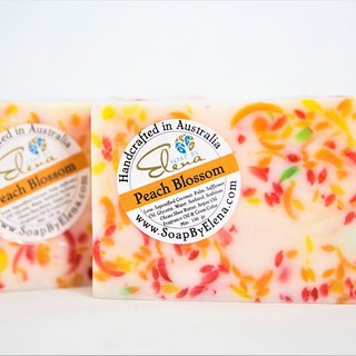Australia Soap by Elena natural handmade soap - happy peach