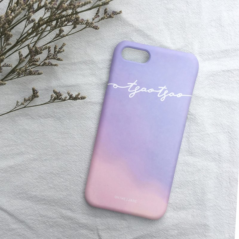 Casual English|| Handwritten English customized mobile phone case Samsung HTC iPhone